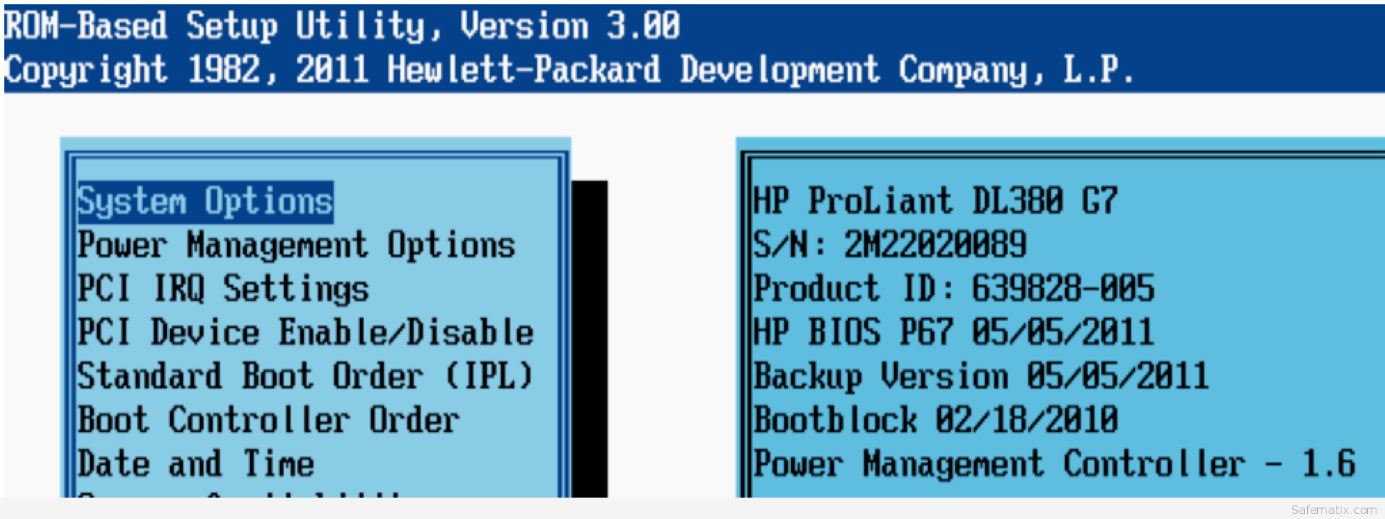 HP Proliant PXE boot multible NICs