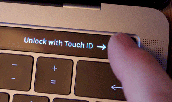Apple MacBook Pro Fingerprint